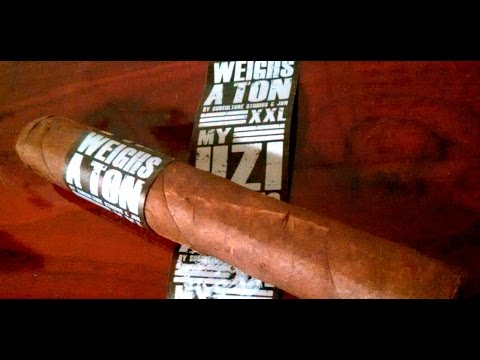 Drew Estate My Uzi Weighs A Ton cigar review, and cigar company consolidations