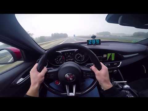 Alfa Romeo Giulia Quadrifoglio A 300 Km/h
