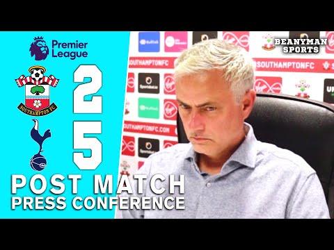 Southampton 2-5 Tottenham - Jose Mourinho - Post Match Press Conference
