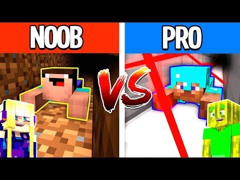 noob-vs.-pro-ausbruch-in-minecraft?!