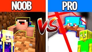 NOOB vs. PRO AUSBRUCH in MINECRAFT?!