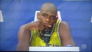 Fab Five Documentary 1993 NCAA Men's Basketball Championship Game Michigan vs. North Carolina Part 3