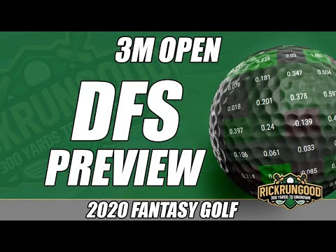 3M Open | DFS Preview & Picks 2020