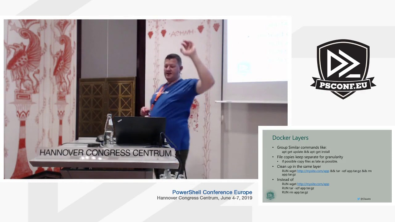 Claus Thude Nielsen- Docker and PowerShell: How to develop your scripts  with confidence