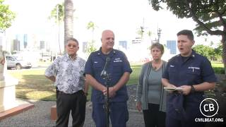 Hawaii Officials Update On Grounded Fishing Boat In Waikiki