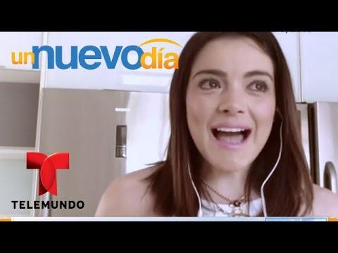 Daniela Navarro te cuenta cómo está viviendo su embarazo | Un Nuevo Día | Telemundo thumbnail