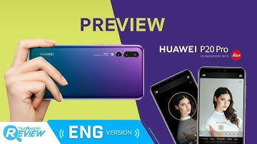 Preview Huawei P20 Pro 3 rear cameras with 5X hybrid zoom and Master AI