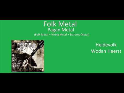 Metal genres and genres connected with metal (180 Genres)