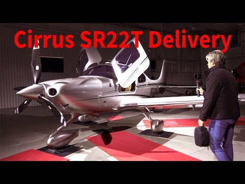 Tribute to Miss Grace, New Cirrus SR22T G6 Delivery and First Flight Using Oxygen