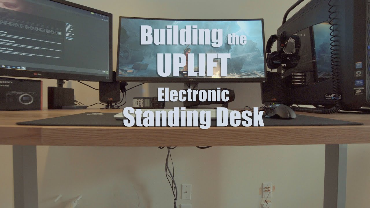 Building the UPLIFT Electric Standing Desk YouTube