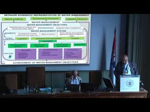 Milan Dimkić -Water Management in Countries in Transition