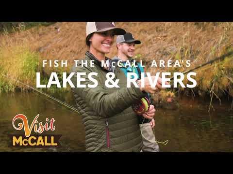 Fall Fishing In McCall, Idaho