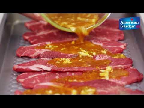 Grilled Honey Mustard Steak