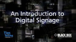 What is Digital Signage? An Introduction to Digital Signage