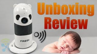 FREDI IP809 Baby Monitor Wireless WIFI IP Surveillance Camera 1080P HD Security : Unboxing & Review