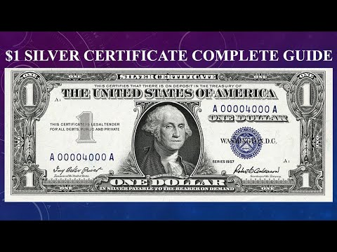 Silver Certificate $1 Dollar Bill Complete Guide - What Is It Worth And Why?