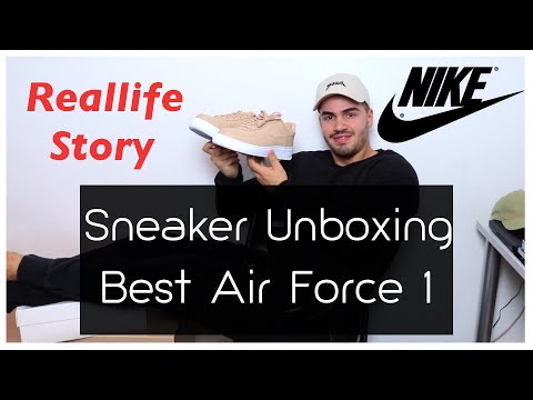 Sneaker Unboxing - Nike Air Force 1 Vachetta Tan + On Feet   Always Overdressed