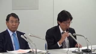20170511 原子力損害賠償・廃炉等支援機構による東電「新新総特」に関する会見(ノーカット)