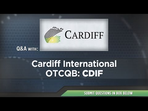Cardiff International Presentation at RedChip's April 2017 Conference