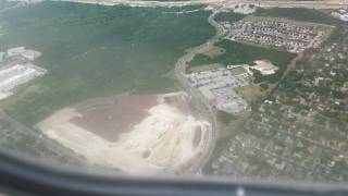Landing at Austin–Bergstrom International Airport