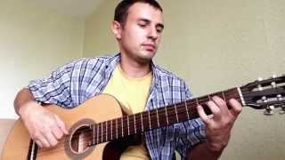 Испанская мелодия на гитаре !!!