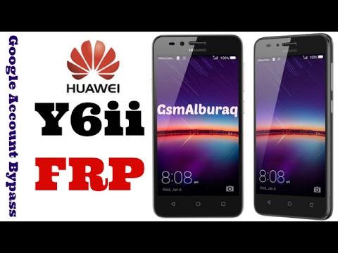 Huawei Y6ii FRP,Cam-L21 Bypass Google Account