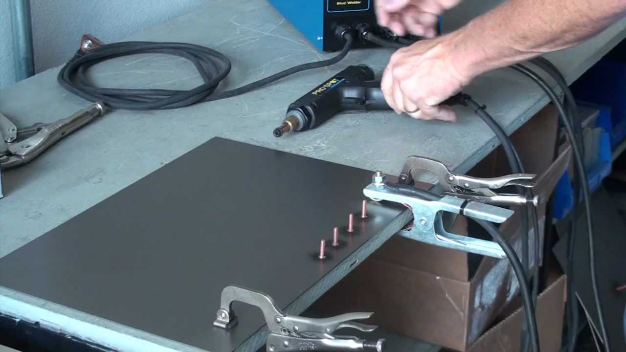Pro Spot Industrial Ps 25 Cd Stud Welding System Youtube