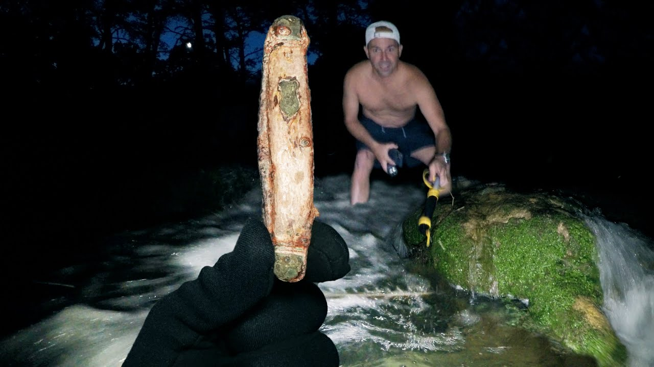 What's Buried Underwater in Mike's Childhood Swimming Hole? (Unexplained Finds)
