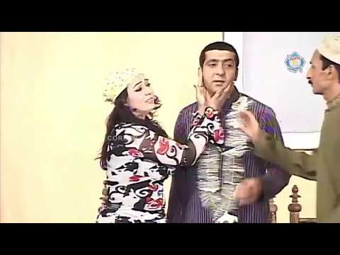 Iftikhar Thakur, Zafri Khan And Sheezah - New Pakistani Stage Drama - Full Comedy Clip