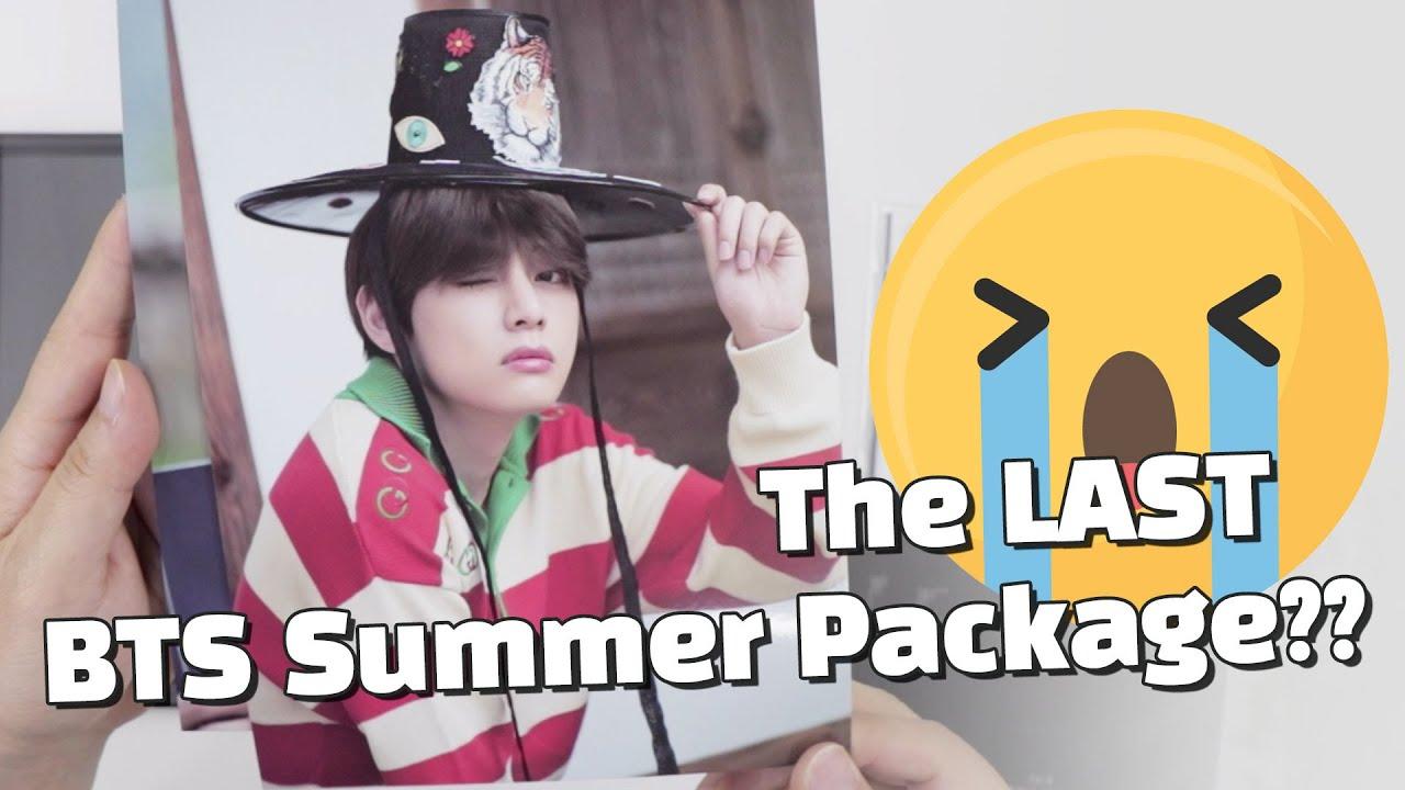 Unboxing Bts 2019 Summer Package In Seoul 방탄소년단 언박싱 Kpop