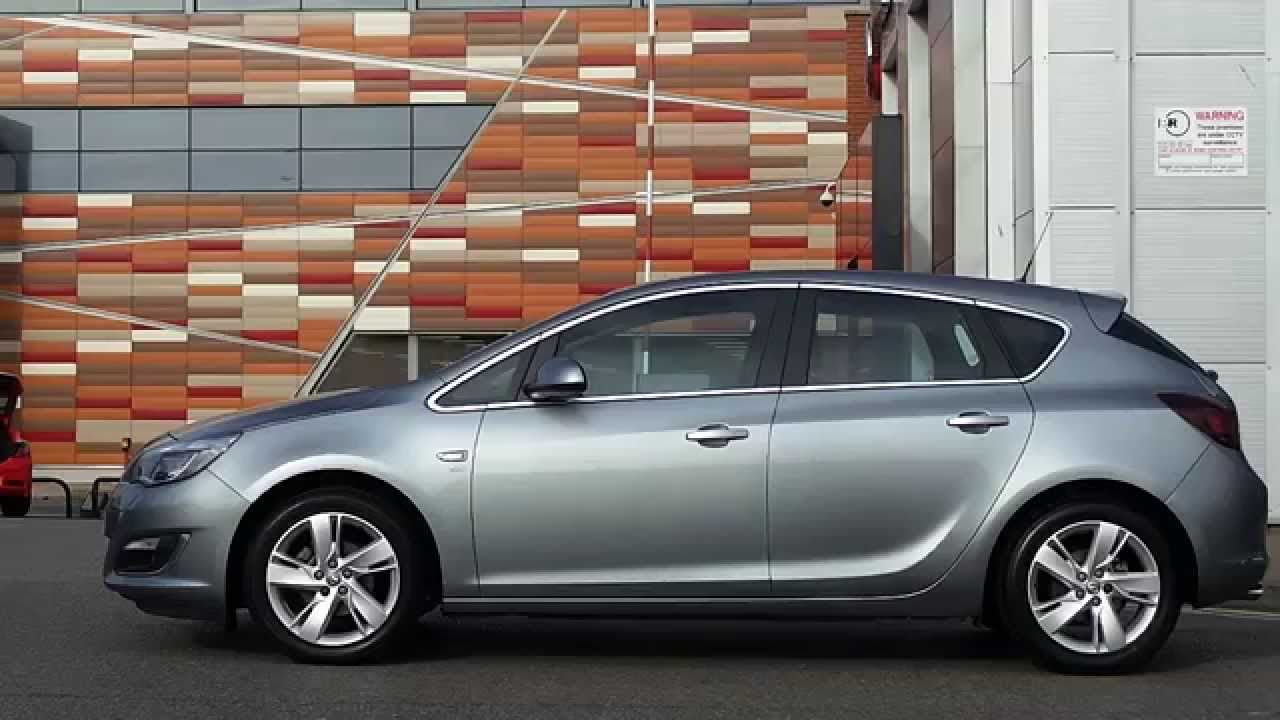 2013 63 vauxhall astra 1 4 16v turbo sri 5dr in silver. Black Bedroom Furniture Sets. Home Design Ideas