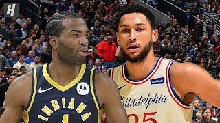 Gambar cover Indiana Pacers vs Philadelphia 76ers - Full Game Highlights | November 30, 2019 | 2019-20 NBA Season