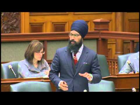 MPP Jagmeet Singh addresses sexism in the legislature
