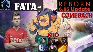 Fata - Alchemist Midlane Pro Gameplay | with EPIC COMEBACK | Dota 2 MMR