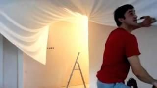 Копия видео натяжные потолки Стэлля(Используемый фирмой «Стелля» (http://stellya.com/) «кулачковый» способ предполагает крепление между двумя полукру..., 2015-01-27T05:44:37.000Z)