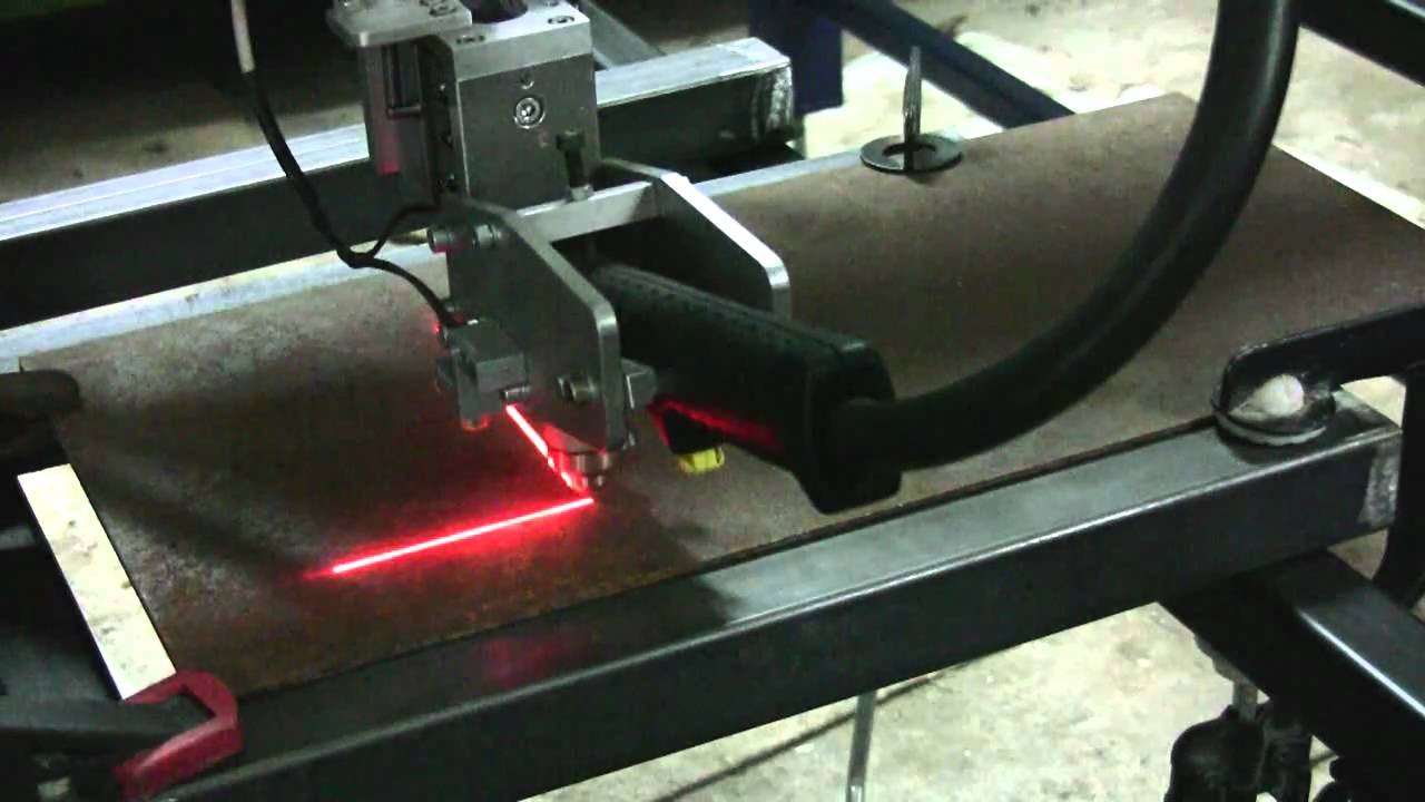 homemade cnc plasma router with mach3 and triple beast hd youtube rh youtube com