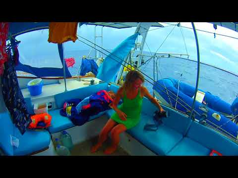 Hitchhinking on a sailing yacht from Tonga to Fiji
