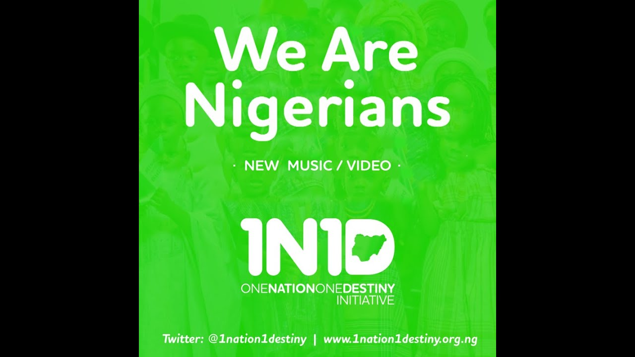 Download We Are Nigerians Song (OFFICIAL VIDEO)