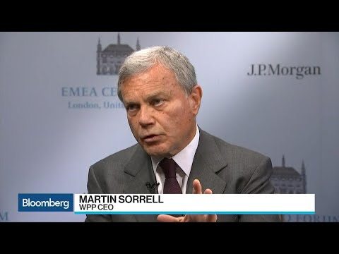 Sir Martin Sorrell Says Clearly a Trade War Makes Things Worse