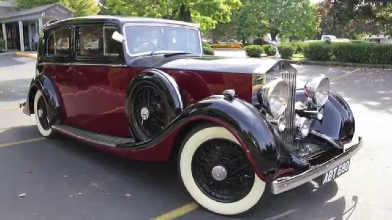 1937 rolls royce 25/30rippon. charvet classic cars. - youtube