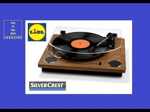 SilvrCrest USB Record Player UNBOXING (Lidl 2 x 3 W 100 Hz – 10 kHz 33 , 45, 78 rpm)