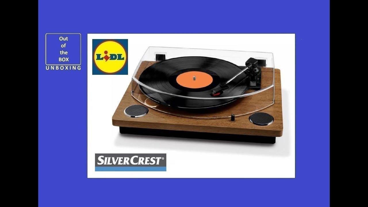 Silvrcrest Usb Record Player Unboxing Lidl 2 X 3 W 100 Hz 10 Khz 33 45 78 Rpm
