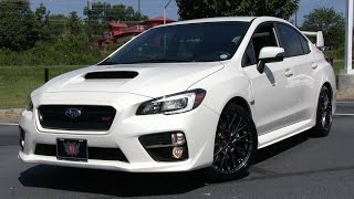 2015 Subaru WRX STI Start Up, Test Drive, and In Depth Review
