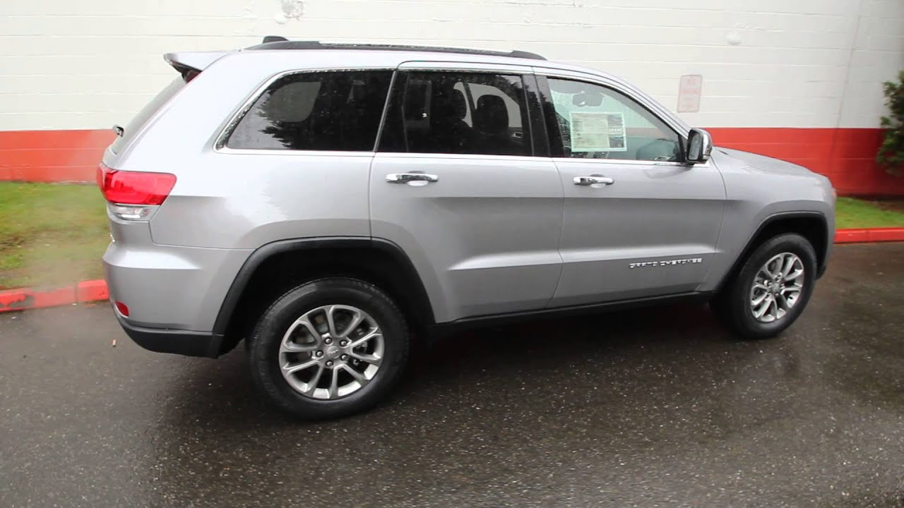 Chrysler Dodge Jeep Ram Of Seattle >> 2014 Jeep Grand Cherokee Limited | Billet Silver Metallic | EC403848 | Seattle | Bellevue - YouTube