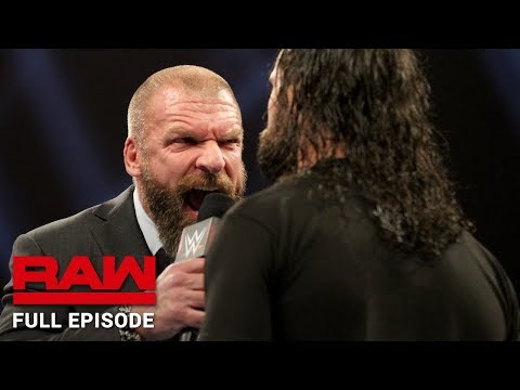 WWE Raw Full Episode, 31 December 2018