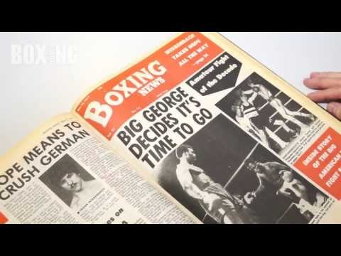 BOXING NEWS FLASHBACK TO 1977 with Daniel Herbert