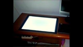 Mesa de luz para dibujo