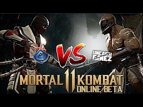 6e2f9e6a5 Mortal Kombat 11 Online Beta - Caboose VS unCAGEDgamez