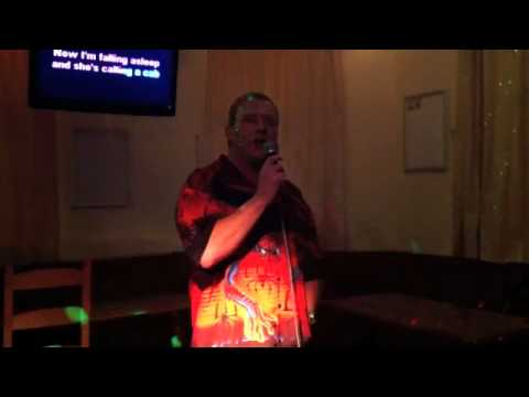 Karaoke at The Harrier - Kiwi Cops 40th