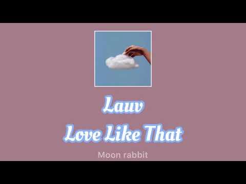 【和訳】Lauv - Love Like That